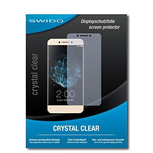 2 x SWIDO® Protector de pantalla LeEco Le Pro 3 Elite Protectores de pantalla de película