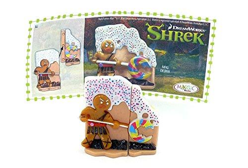 Kinder Überraschung Pfefferkuchenmann (Shrek 4)