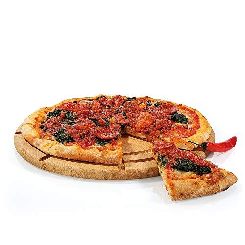 Zassenhaus KP0000054293 Eco Line Pizzateller, Bambus