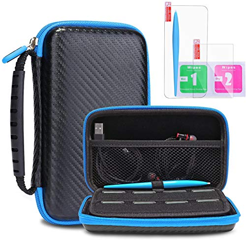 Protective Carrying Case for New Nintendo 2DS XL LL KINGTOP Hard Shell Travel Bag for New Nintendo 2DS XL/LL New Nintendo 3DS/XL/LL