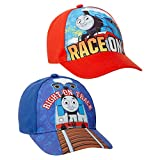 Mattel Thomas The Train 2 Pack Baseball Cap - Thomas The Tank Engine Curved Brim Snap-Back Hat (Toddler)