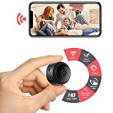 ZDMYING Mini Hidden Camera Wireless Spy Camera HD 1080P WiFi Camera Portable Home Security Cameras Covert Nanny Cam Small Indoor Video Recorder with Motion Activated/Night Vision