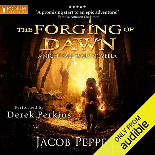 Page de couverture de The Forging of Dawn