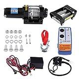 polipasto eléctrico, 12 V 4000lbs cabestrante Eléctrico Cable Elevador Capacidad...