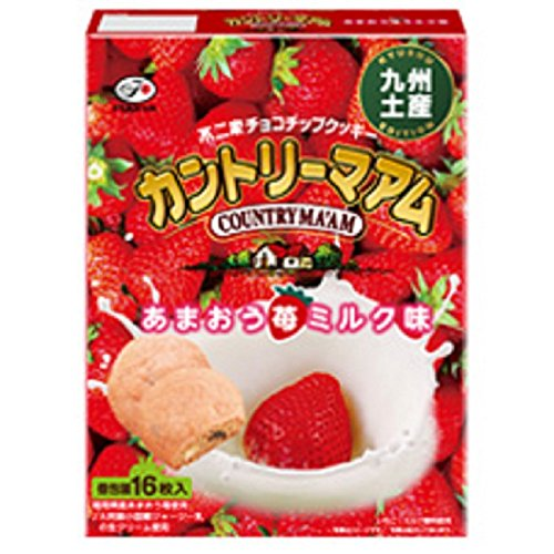 九州土産カントリーマアムあまおう苺ミルク味