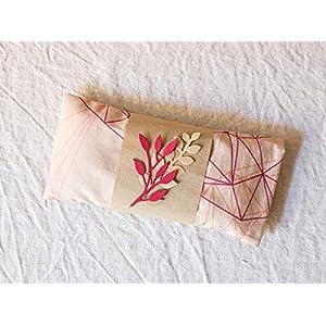 Yoga Augenkissen aus Baumwolle mit Lavendel, Geschenk für Yogis
