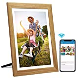 15.6 Inch SSA WiFi Digital Picture Frame with Full HD 1920x1080 IPS Touch Screen, Send Photo or Video via App, Email, Facebook, Twitter from Anywhere, Auto-Rotate, 16GB Storage, Wall Mountable(VESA)