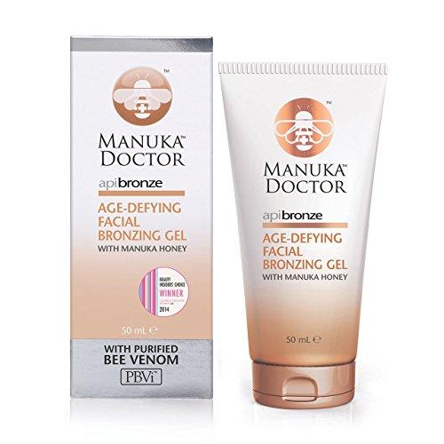 Manuka Doctor ApiBronze Age-Defying Facial Bronzing Gel 50 ml by Manuka Doctor,
