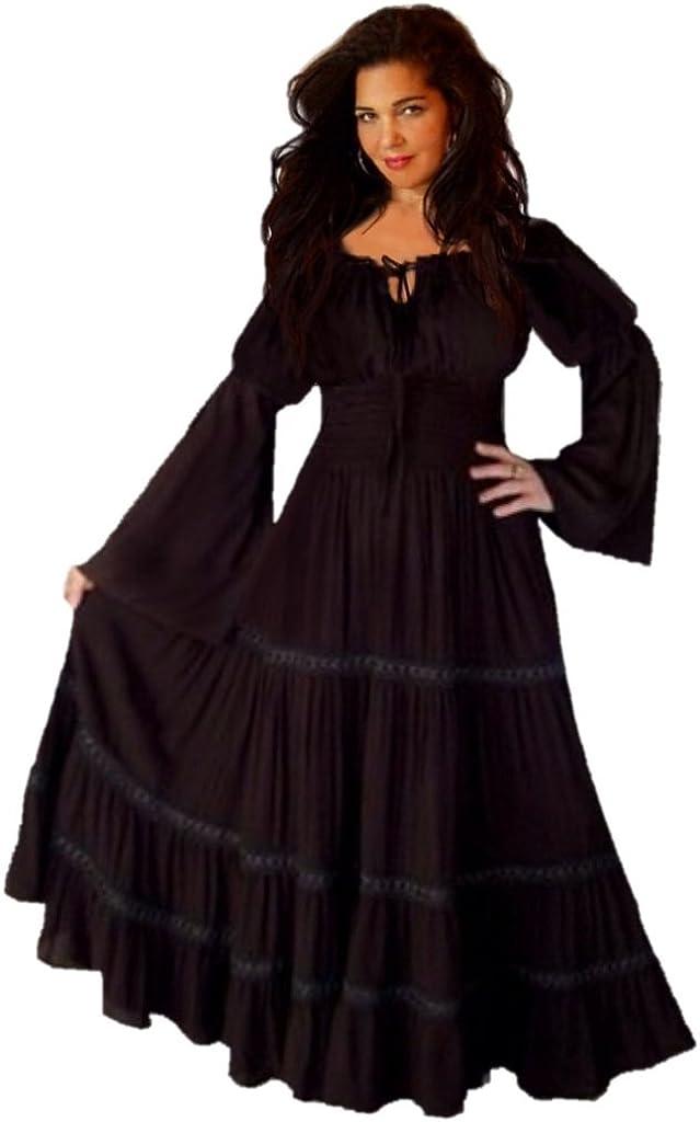 LOTUSTRADERS Dress Ranking TOP6 shop Peasant Smocked Lace R524 Trim