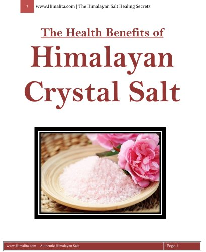 The Health Benefits of the Himalayan Crystal Salt by HIMALITA.com