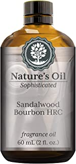 Sandalwood Bourbon HRC Fragrance Oil (60ml) For Cologne, Beard Oil, Diffusers, Soap Making, Candles, Lotion, Home Scents, Linen Spray, Bath Bombs