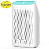 Hysure Small Dehumidifier 700ml Powerful Dehumidifier Compact for Home with Semiconductor Technology Portable