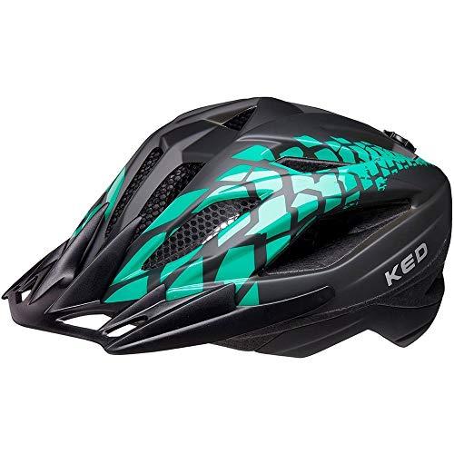 KED Street Junior Pro Kopfumfang S 49-55 cm Black Green matt