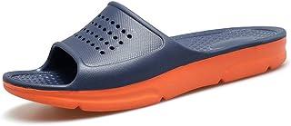 HSBUY Men's Sport Slide Durable Slippers Shower Pool Sandals Shoes for Indoor and Outdoor