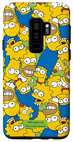 Galaxy S9+ The Simpsons Homer Marge Bart Lisa Maggie Print Case