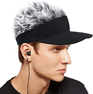 2019 New Updated Flair Hair Visor Fashion Wig Baseball Cap Golf Hats