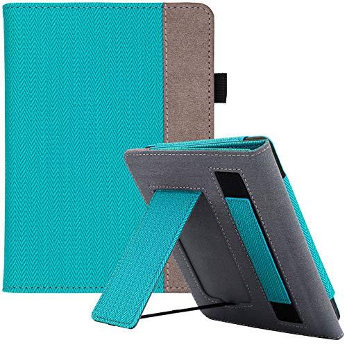 WALNEW AMAZON Kindle Paperwhite第十世代カバー ケース 2018 Kindle Paperwhite Newモデル(第10世代 Model NO. PQ94WIF)に適応 スタンド機能 ベルト付き マグネット機能搭載カバー