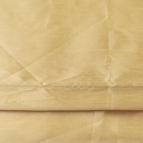 Liedeco Raffrollo Satin Struktur Länge 175 cm, Rollo Zitrone, 135 cm x 175 cm.