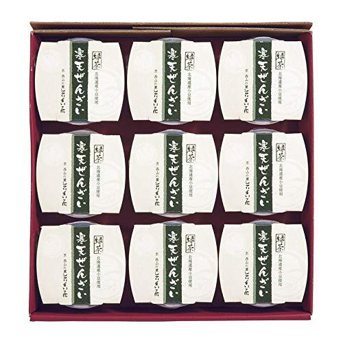 京都 苔香居(たいこうきょ) 緑茶寒天ぜんざい 【スイーツ 和菓子 詰め合わせ ギフトセット セット】