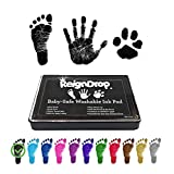 Baby Footprint Handprint Ink Pad - Create Impressive Keepsake Stamp - 100% Non-Toxic