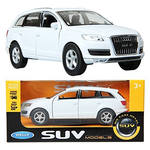 dgboy Welly 1:33 2010 Audi Q7 / White /Children /Toy /DIE-CAST Toy/Miniature car