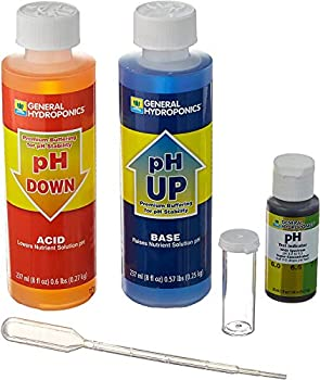 General Hydroponics pH Control Kit for a Balanced Nutrient Solution 1 Pack