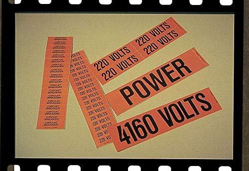 Stranco Inc Pipe Mrkr, 120 Volts, 1-1/4in.andSmllr, PK5 - CVC-10