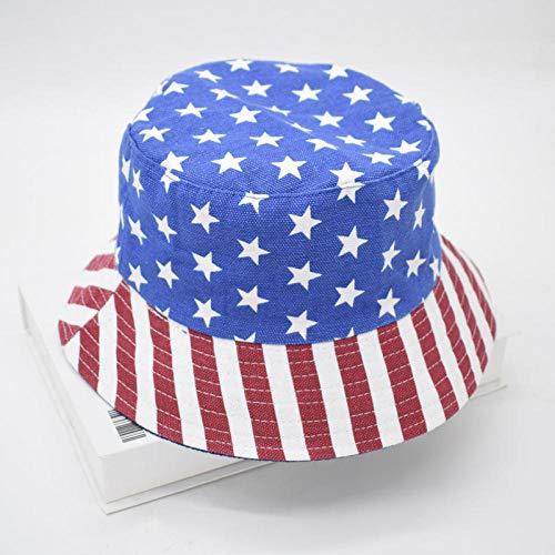ZHENQIUFA Sombrero Pescador Gorras Sombreros De Cubo Impresos Reversibles De Moda Unisex Hombres Mujeres Sombra Al Aire Libre Panamá Niños Sombrero De Pescador