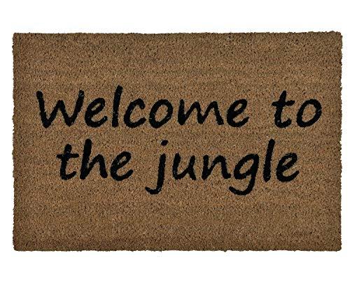 ANDREA HOUSE Felpudo Fibra Coco Welcome to The Jungle