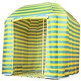 """CAPTURE """"Seaside BS-220 Ombrellone o parasole, 2 in 1, ombrellone classico o con tenda, porta e tappeto da pavimento, ecc."""