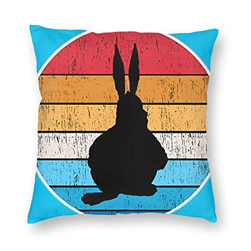 wenhe Big Chungus Meditation Throw Pillow Covers Case Funny Gifts Cover Couch Decor Soft Comfortable Decorative Durable and Stylish 22' X22