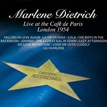 Live At The Café de Paris - London 1954
