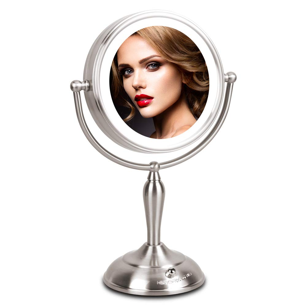 LED Makeup Mirror Magnifying Operated