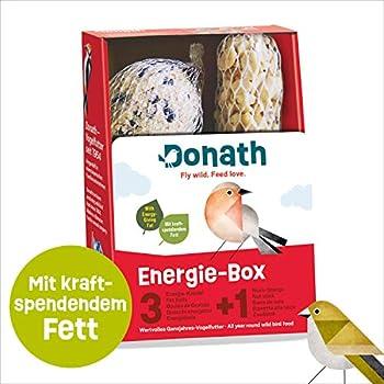 Donath Boîte à Énergie 3+1 Oiseaux Sauvages Nourriture 420 g