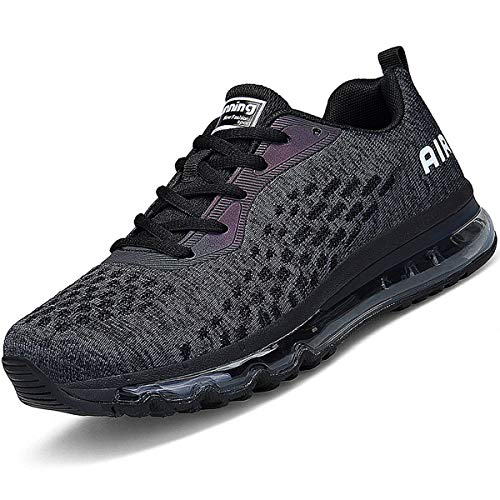 Women Men Running Shoes Sports Trainers Air Cushion Shock Absorbing Casual...