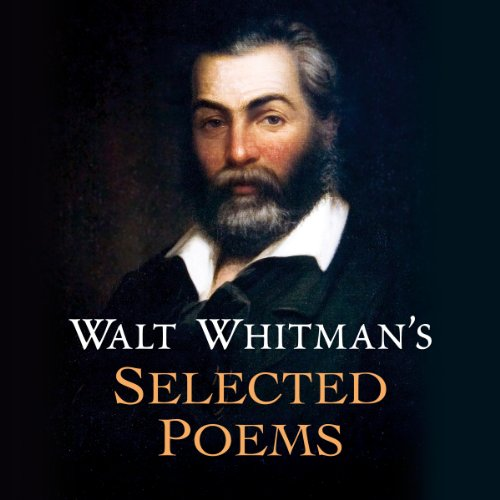 Walt Whitman's Selected Poems audiobook cover art
