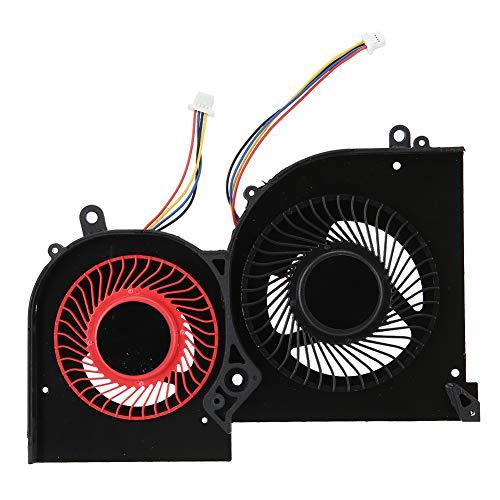 Vbestlife1 Ventilador de refrigeración de Doble Cara GPU, Ventilador de refrigeración de Escritorio con disipación de Calor, Apto para GS65 GS65VR MS-16Q2 DC5V
