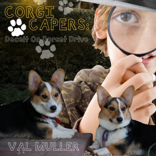 Corgi Capers audiobook cover art