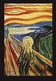 Close Up Póster Pintura de Edvard Munch - The Scream El...