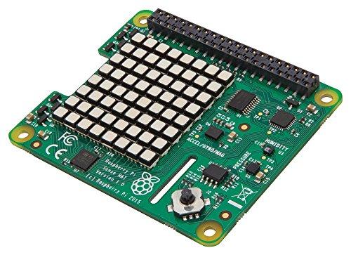 RASPBERRYPI-SENSEHAT Raspberry Pi Sense Hut mit Neigung, Druck, Feuchtigkeit und Temperatursensoren