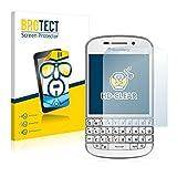 BROTECT Schutzfolie kompatibel mit BlackBerry Q10 (2 Stück) klare Bildschirmschutz-Folie