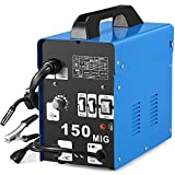 SUNGOLDPOWER MIG 150A Welder Flux Core Wire Automatic Feed Welding AC Welder...