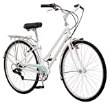 Schwinn Wayfarer Hybrid Bicycle, Featuring Retro-Styled 16-Inch/Small Steel Step-Through Frame...
