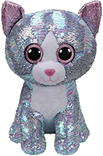 MANGMOC Ty Boos Sequin Animal Plush Toys Doll Cat Owl Fox Unicorn 15Cm Must Have Tools Friendship Gifts The Favourite Superhero Coloring Unboxes