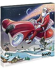 Kwb 370140 Adventskalender 2020 Verktygssats Inkl. Multiverktygskort och Väska