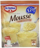 Dr. Oetker preparado para mousse sabor vainilla sobre 65 gr