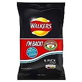 Walkers Marmite 6 Patatine Pack 6 X 25g