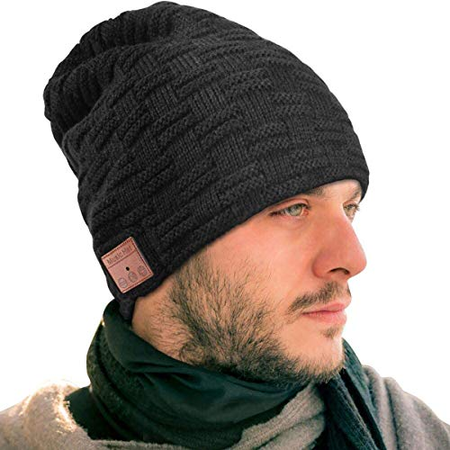 EVERSEE Bonnet Bluetooth, Meilleur Cadeau de Noël...