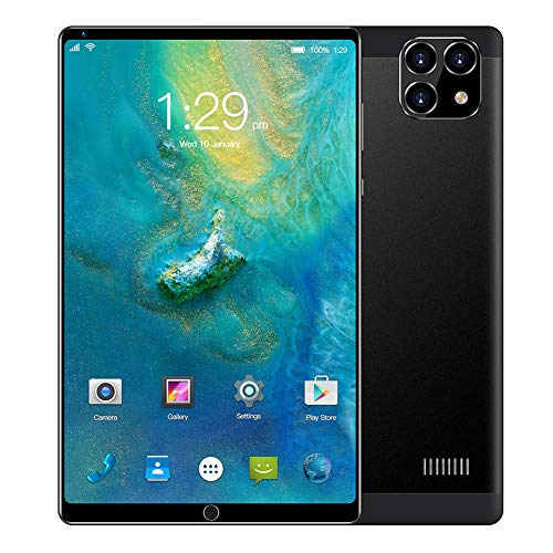 YXW Tablet PC Android, Tablet per chiamate 3G, Display IPS HD da 8 Pollici, 1 GB + 16 GB, espandibile Fino a 128 GB, alloggiamento in Metallo, WiFi, Bluetooth, GPS, Batteria da 4000 mAh