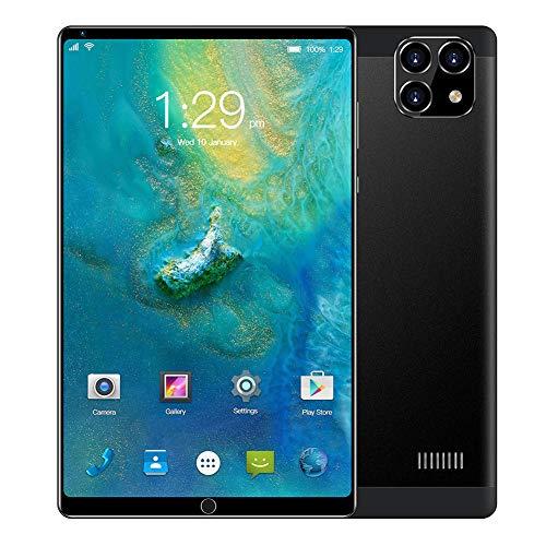 CRZ Tableta Android, tabletas de Llamadas 3G, Pantalla IPS HD de 8 Pulgadas, 1 GB + 16 GB, Ampliable a 128 GB, Carcasa metálica, WiFi, Bluetooth, GPS, batería de 4000 mAh